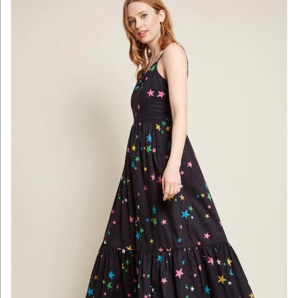 0bee10f37dd3 ModCloth Rainbow Stars Maxi Dress- In Your Nature.  M_5c5a5519fe5151d40bc9b24e
